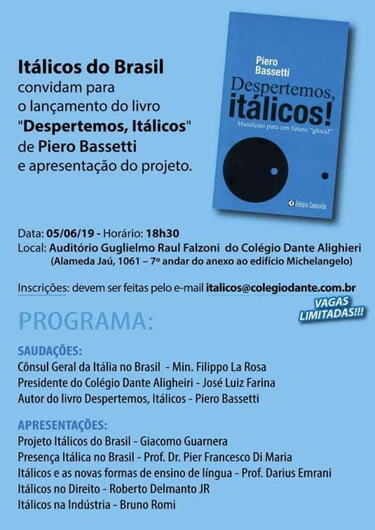 "Presentazione libro ""Despertemos, Itálicos!"""