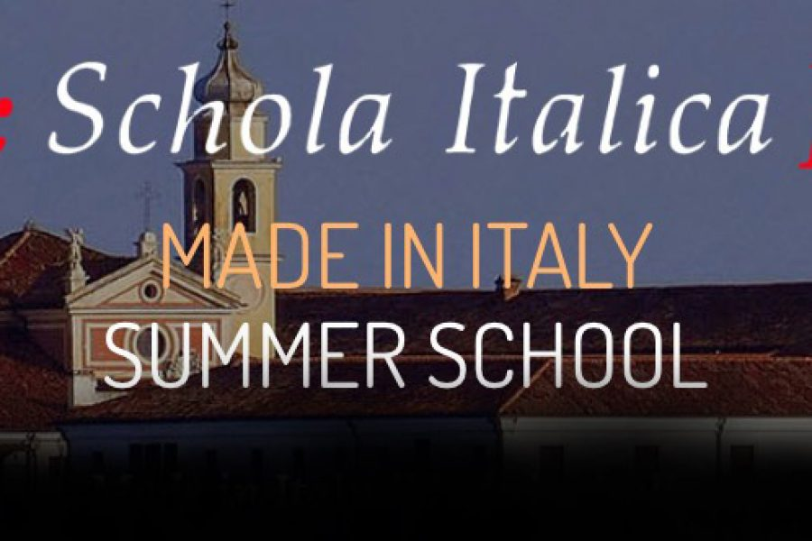 NEW EDITION OF THE SUMMER SCHOOL MADE IN ITALY / MADE BY ITALICS